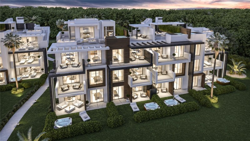 New Development Modern Apartments Estepona Malaga Spain (2)