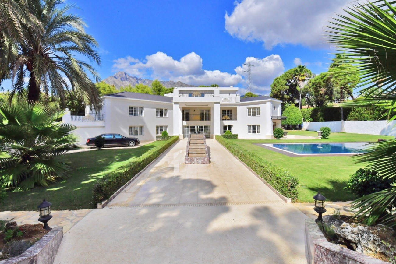 Luxury Villa for sale Marbella Golden Mile Spain
