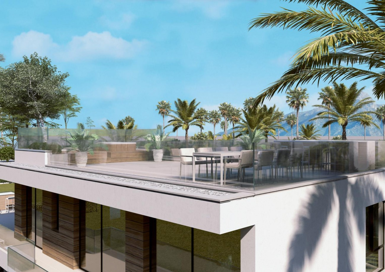 Luxury Contemporary Beachside Villa for sale Marbella Golden Mile Spain (3) (Large)