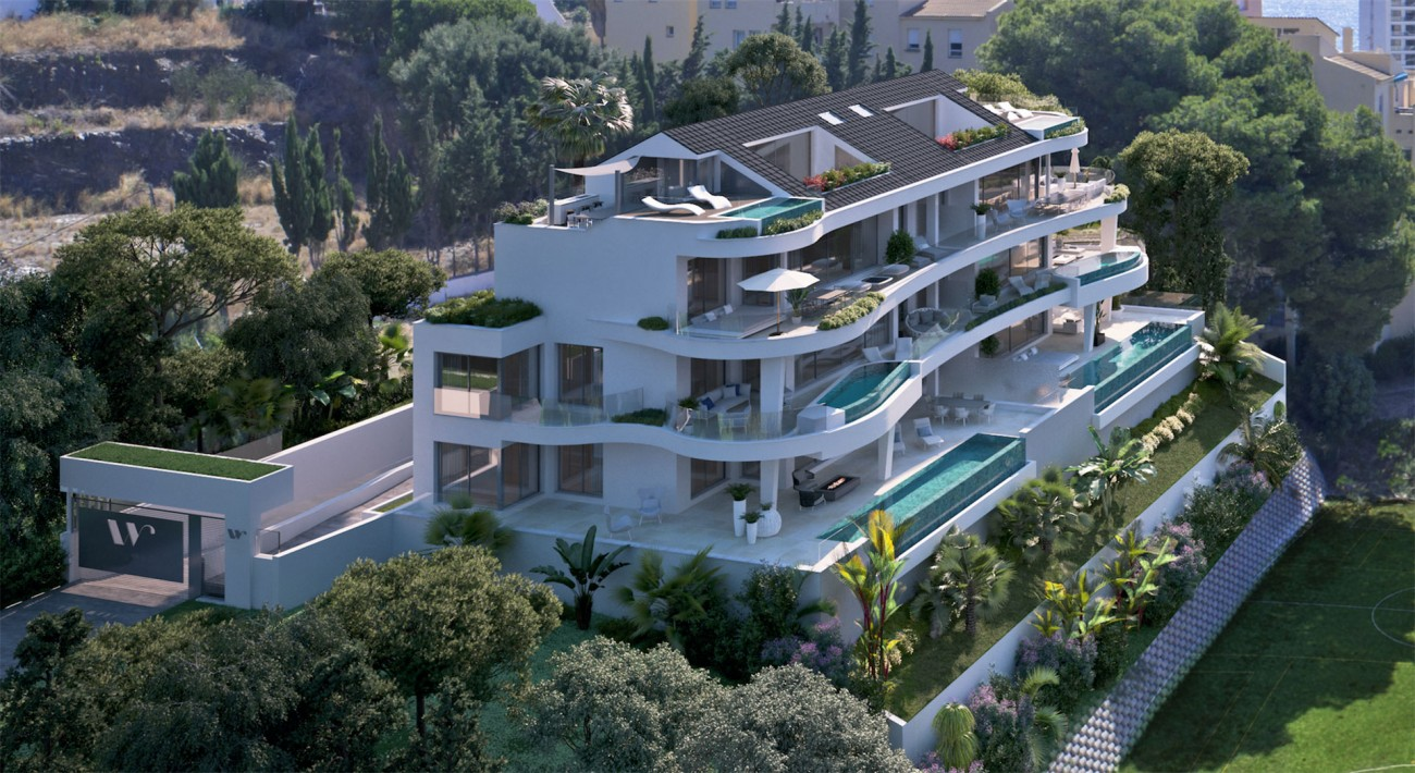Luxury Contemporary New Development for sale Benalmadena Spain (7)