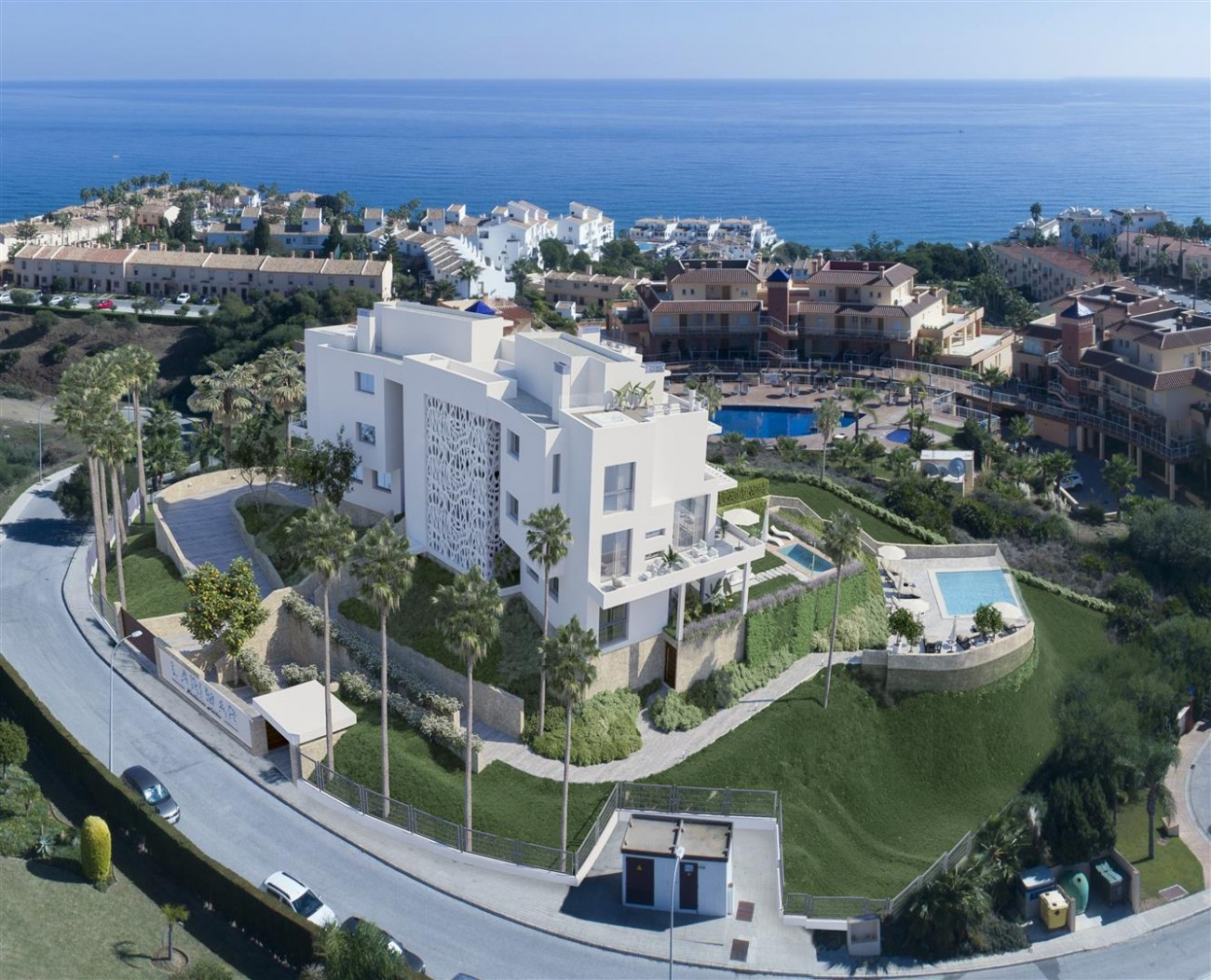 New Development Contemporary Apartments Mijas Costa Spain (10) (Large)