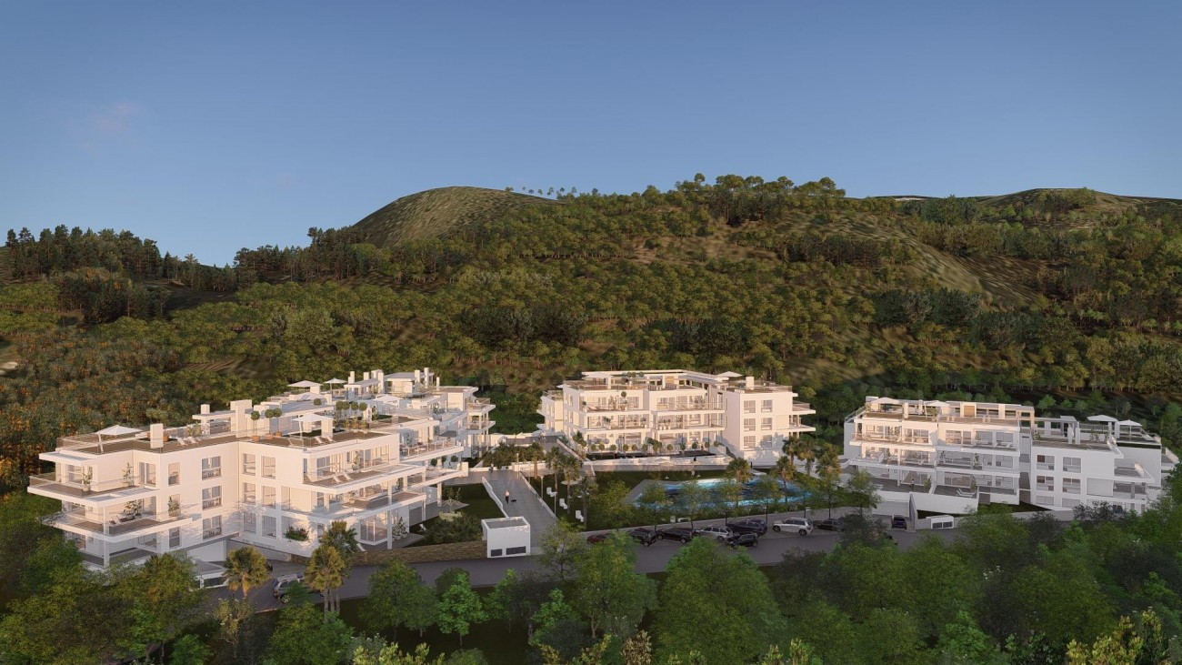 New Contemporary Apartments for sale Benahavis Spain (1) (Large)