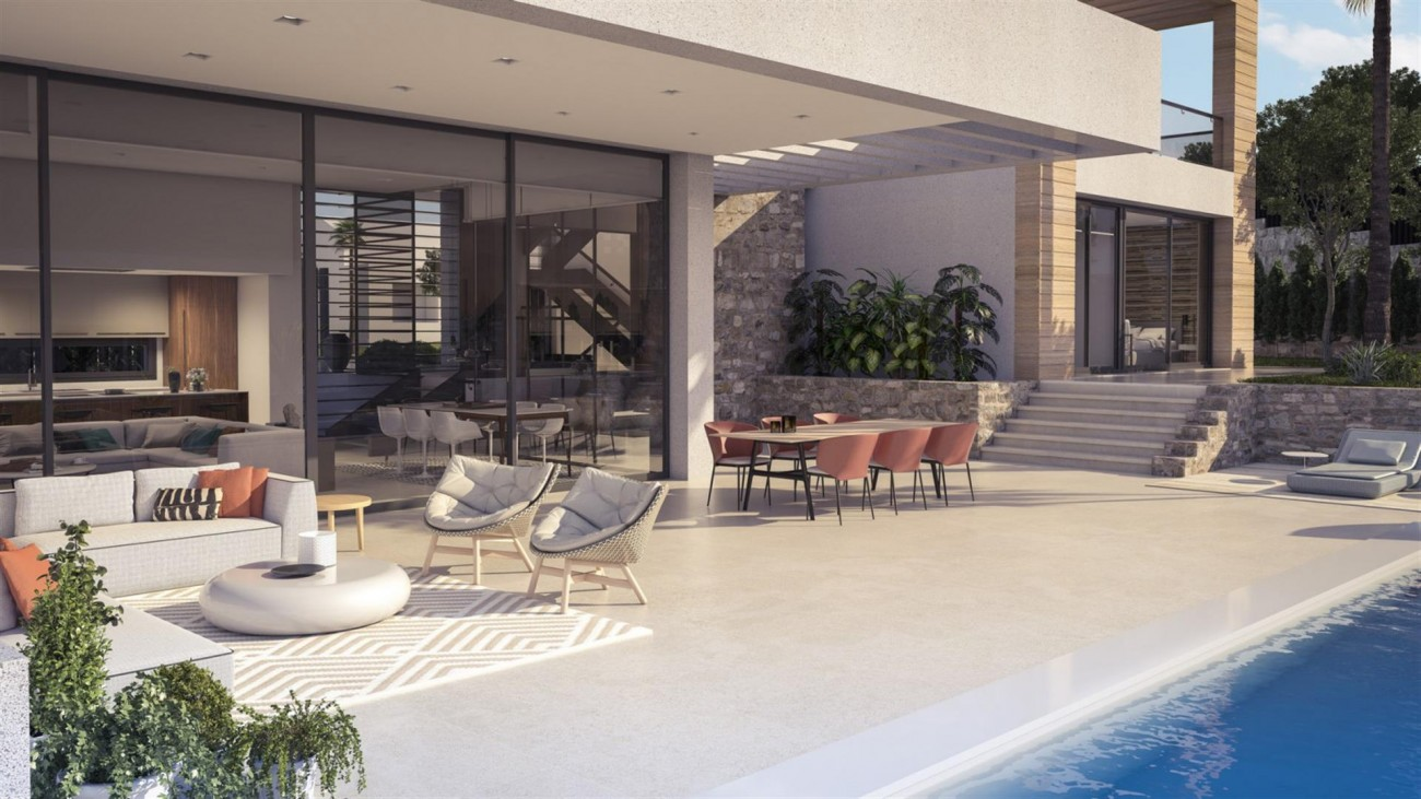 New Contemporary Villas for sale Nueva Andalucia Marbella Spain (4) (Large)