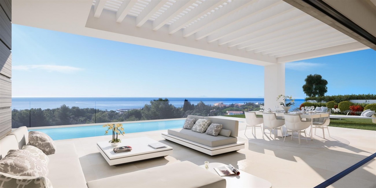 Modern villa project for sale Marbella Spain Type A (4)