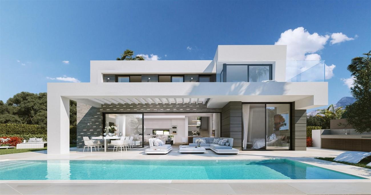 Modern villa project for sale Marbella Spain Type A (5)