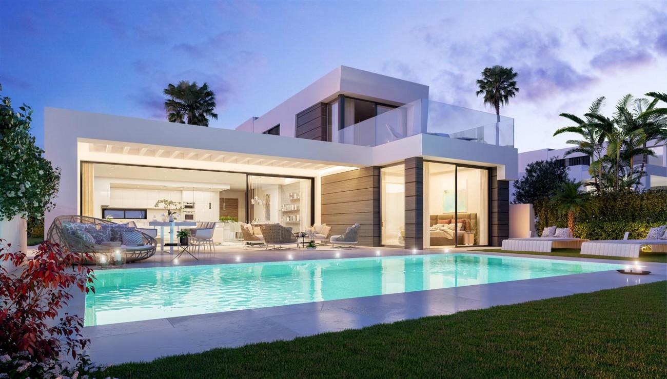 Modern villa project for sale Marbella Spain Type B (1)