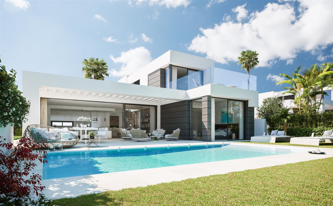 Modern villa project for sale Marbella Spain Type B (4)