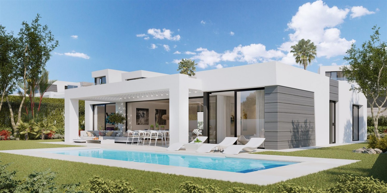 Modern villa project for sale Marbella Spain Type C (1)