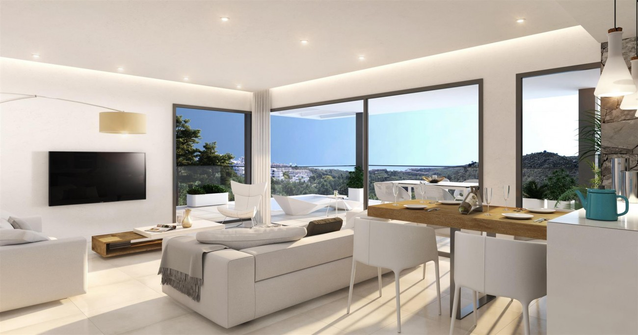Contemporary Apartments for sale Estepona East Spain (2) (Large)