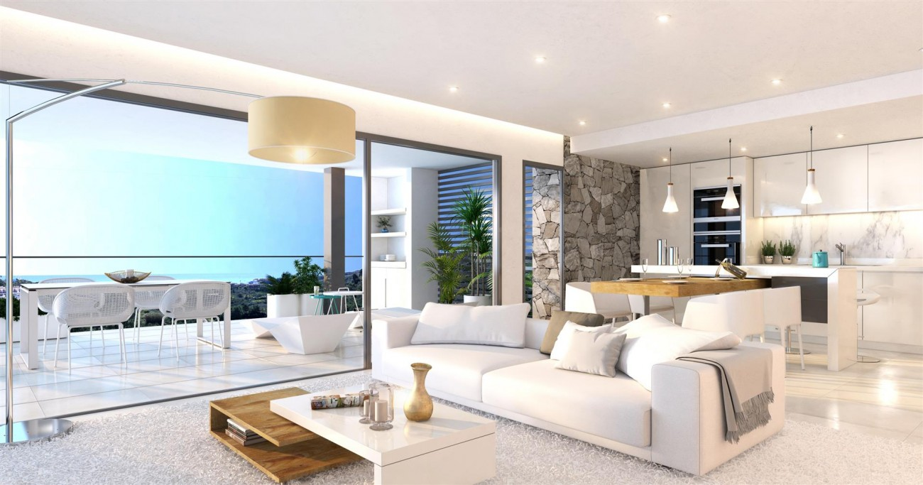 Contemporary Apartments for sale Estepona East Spain (3) (Large)