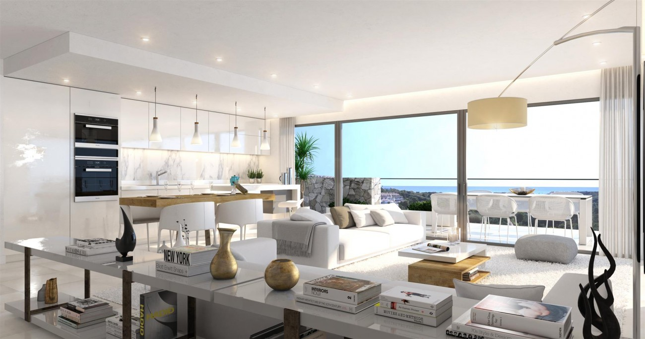 Contemporary Apartments for sale Estepona East Spain (4) (Large)