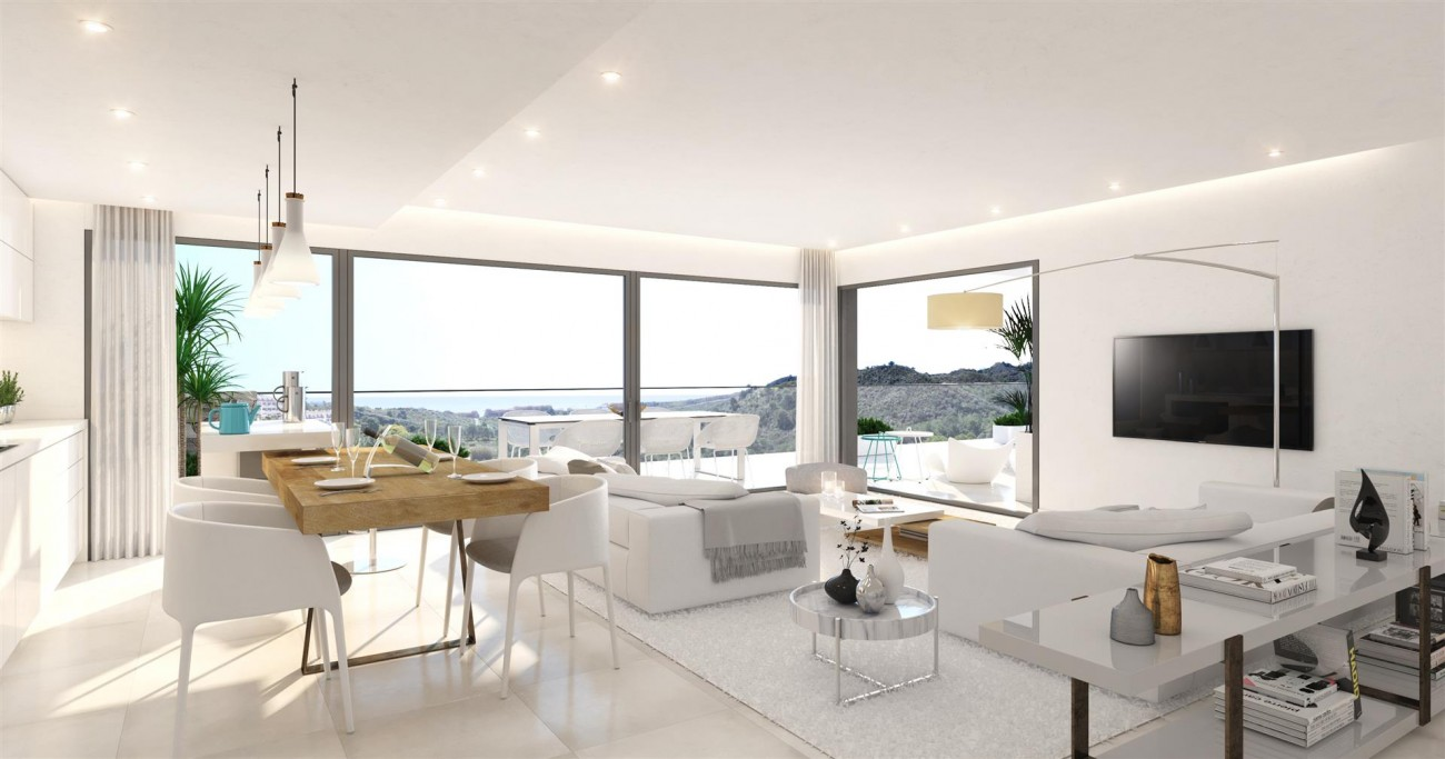 Contemporary Apartments for sale Estepona East Spain (6) (Large)