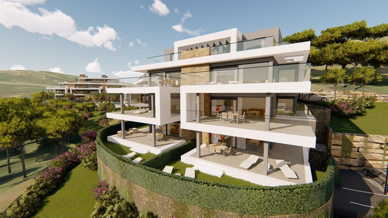 Contemporary Apartments for sale Estepona East Spain (11) (Large)