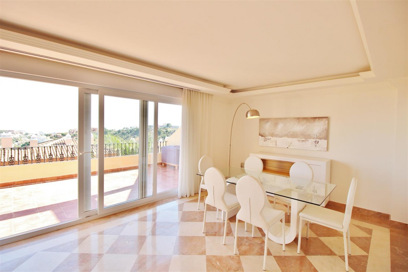 Beautiful 2 Beds Penthouse Duplex for rent Nueva Andalucia Marbella Spain (2) (Large)