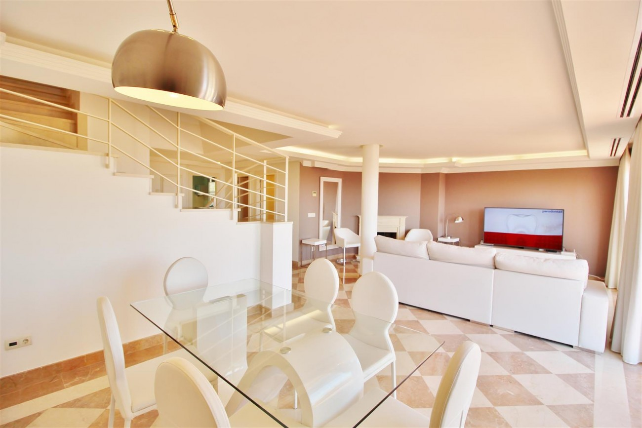Beautiful 2 Beds Penthouse Duplex for rent Nueva Andalucia Marbella Spain (5) (Large)