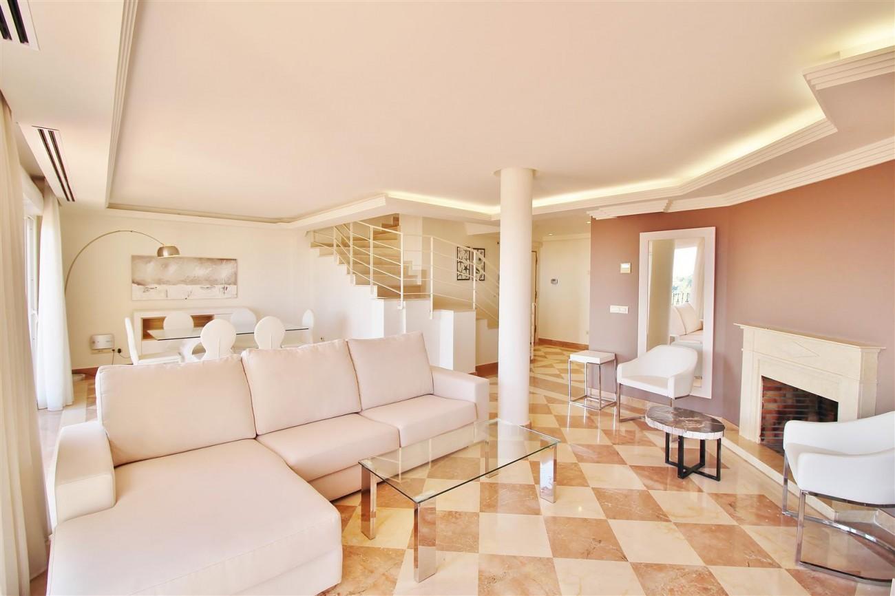 Beautiful 2 Beds Penthouse Duplex for rent Nueva Andalucia Marbella Spain (6) (Large)