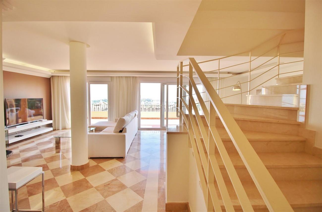 Beautiful 2 Beds Penthouse Duplex for rent Nueva Andalucia Marbella Spain (18) (Large)