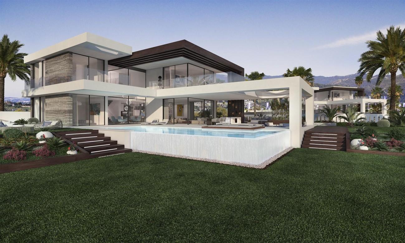 Modern Contemporary Villa development for sale Estepona Spain (1) (Large)