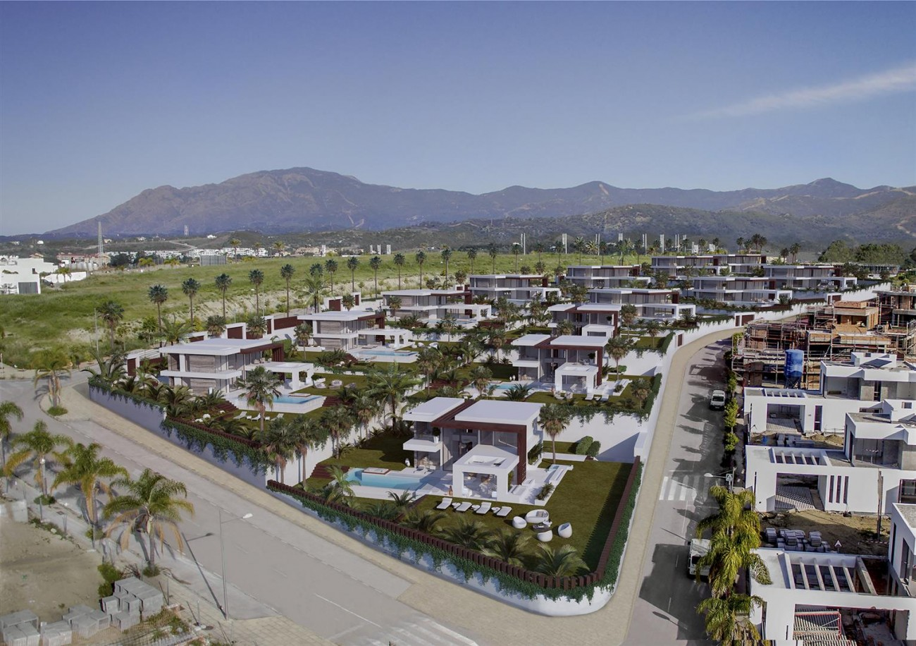 Modern Contemporary Villa development for sale Estepona Spain (4) (Large)