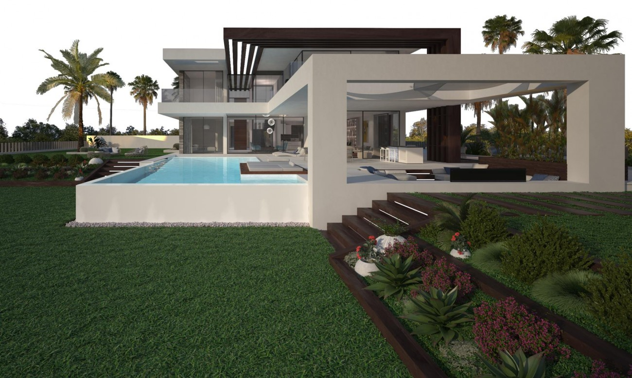 Modern Contemporary Villa development for sale Estepona Spain (6) (Large)