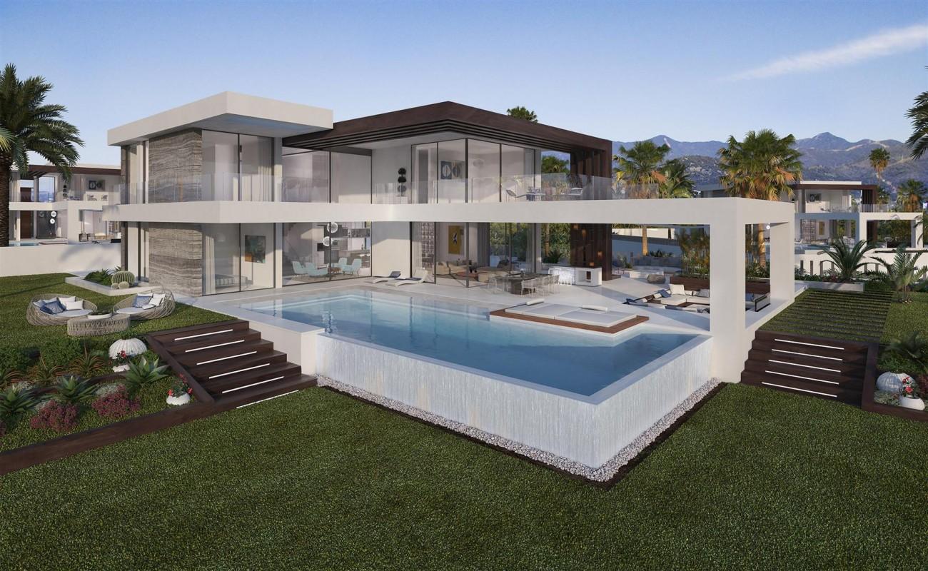 Modern Contemporary Villa development for sale Estepona Spain (7) (Large)