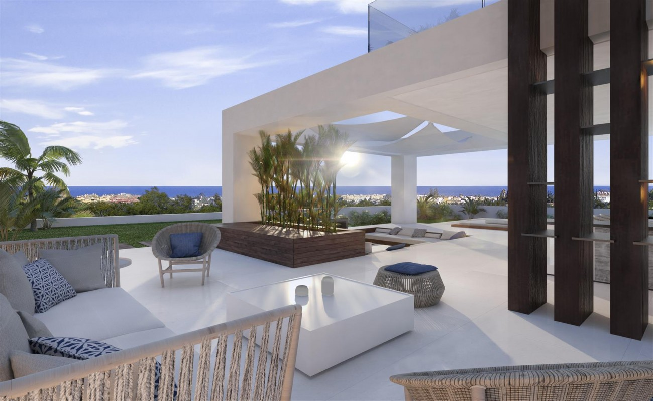 Modern Contemporary Villa development for sale Estepona Spain (9) (Large)