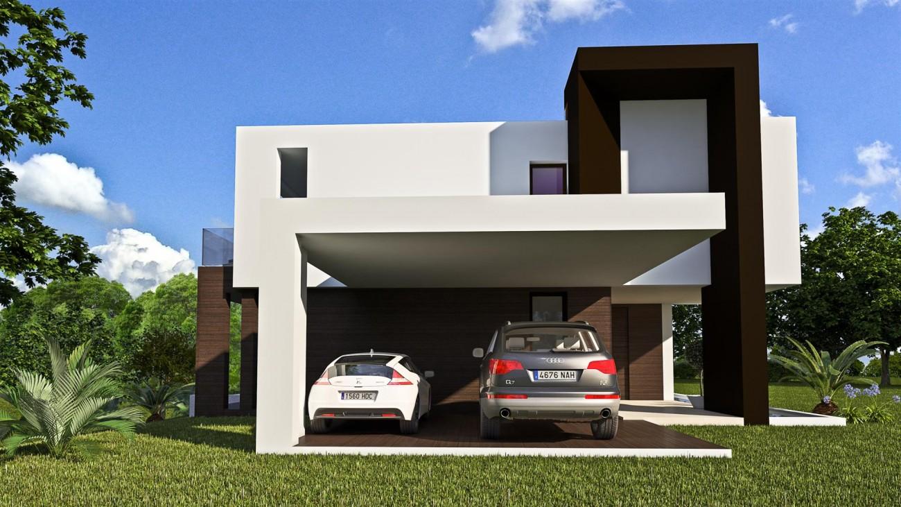 New Contemporary Villa Development Estepona East Spain (13) (Large)