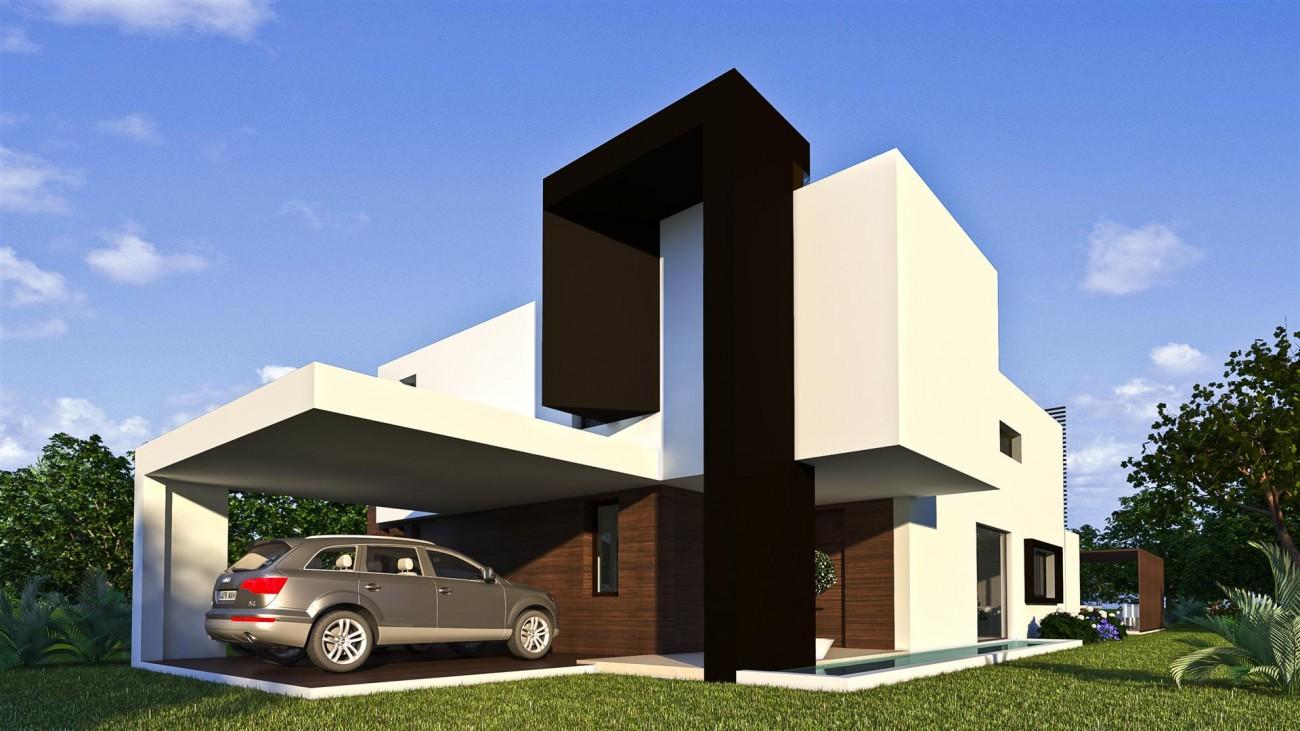 New Contemporary Villa Development Estepona East Spain (17) (Large)
