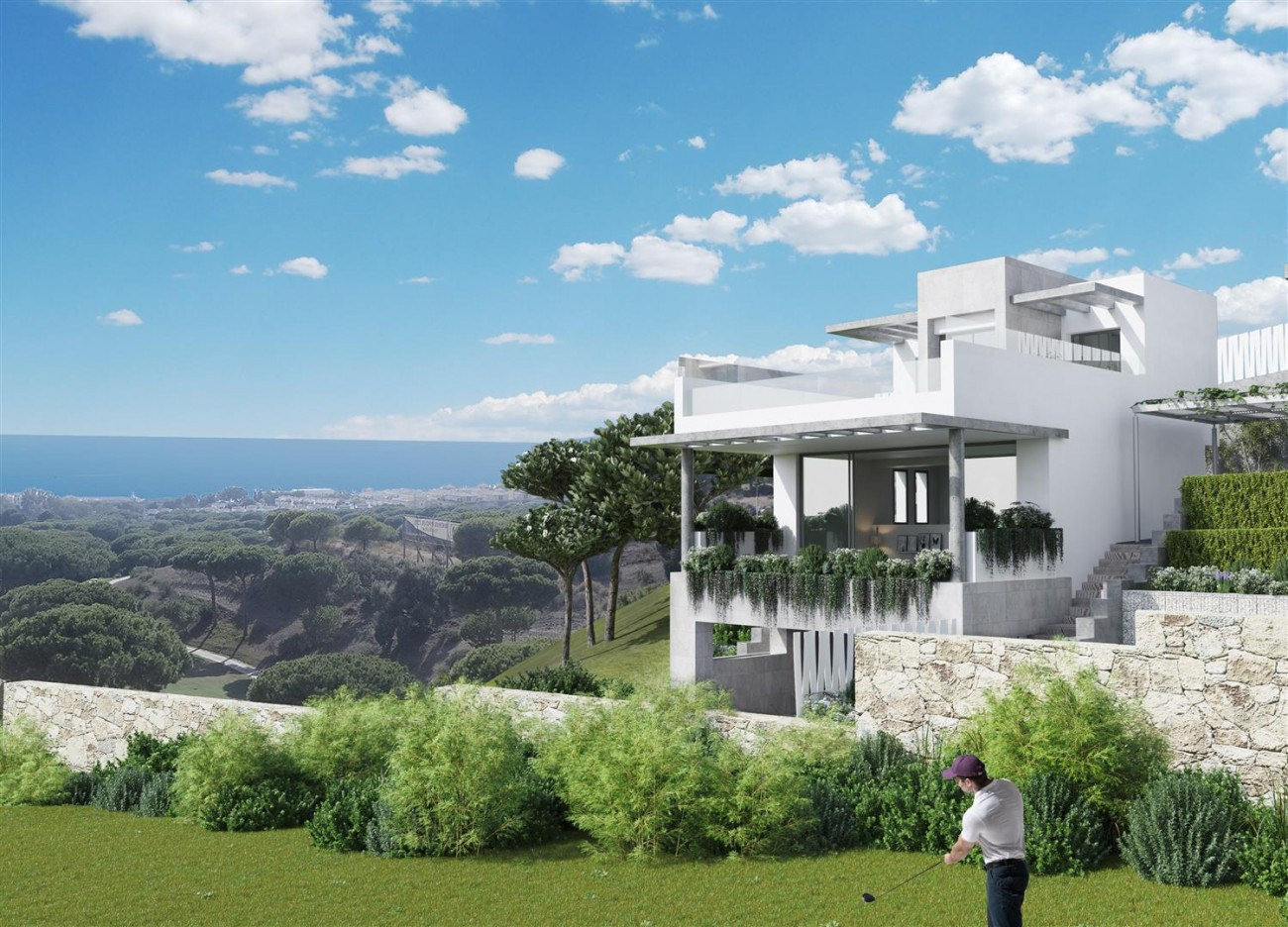 Modern townhouses for sale Marbella Spain (2) (Large)