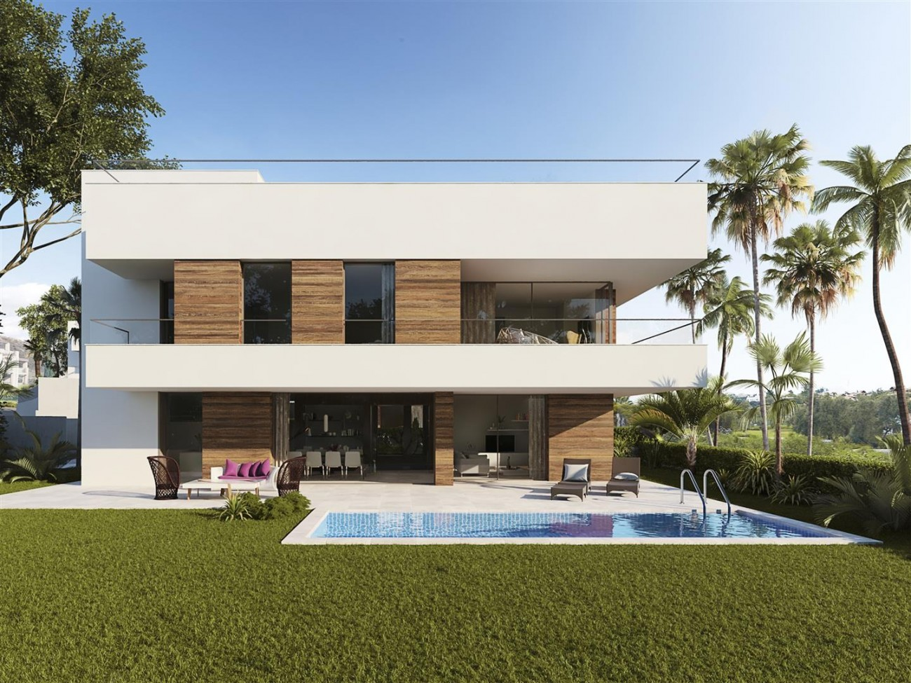 Contemporary Villas for sale Estepona Spain (7) (Large)