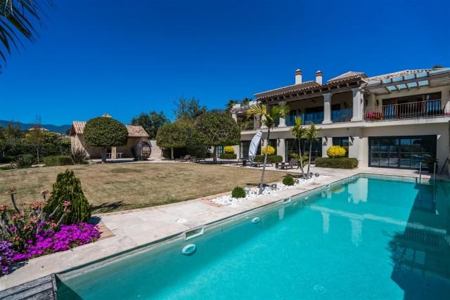 Villa for Sale - 4.500.000€ - La Zagaleta, Costa del Sol - Ref: 5896