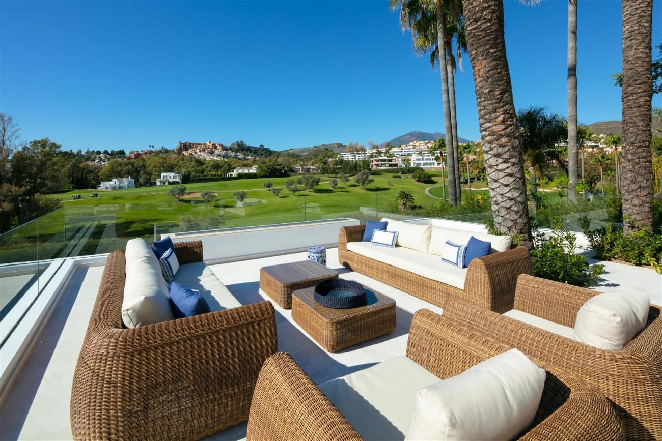 Frontline Golf Contemporary Villa for sale Nueva Andalucia Marbella Spain (11) (Large)