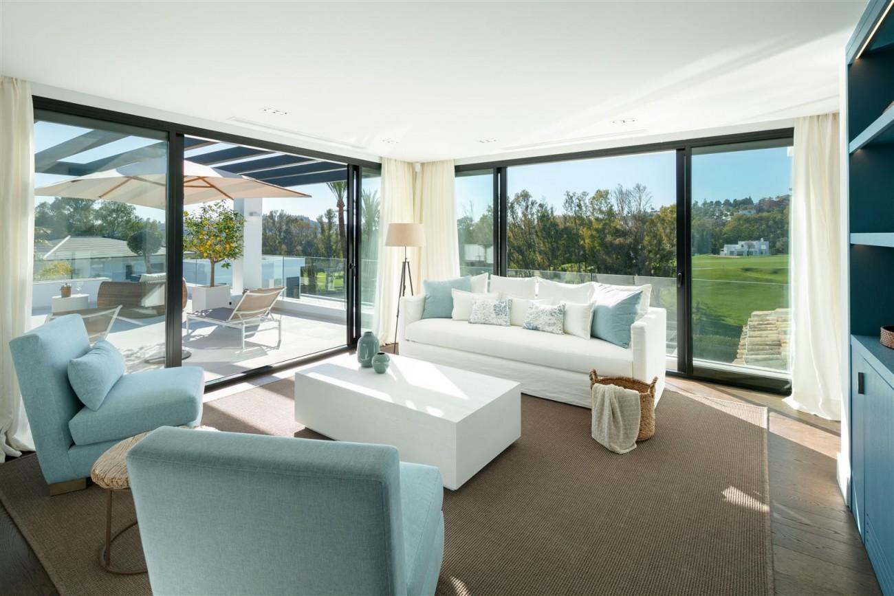 Frontline Golf Contemporary Villa for sale Nueva Andalucia Marbella Spain (15) (Large)