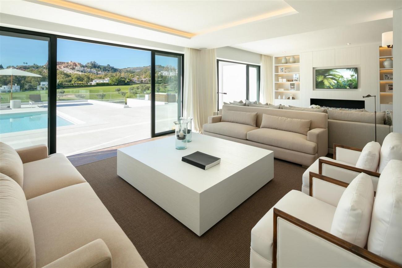 Frontline Golf Contemporary Villa for sale Nueva Andalucia Marbella Spain (13) (Large)