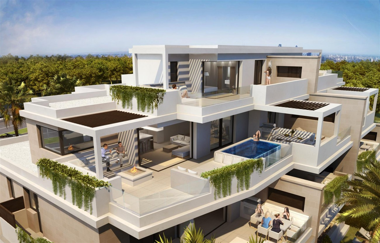 Frontline Beach New Development for sale Estepona Spain (3) (Large)
