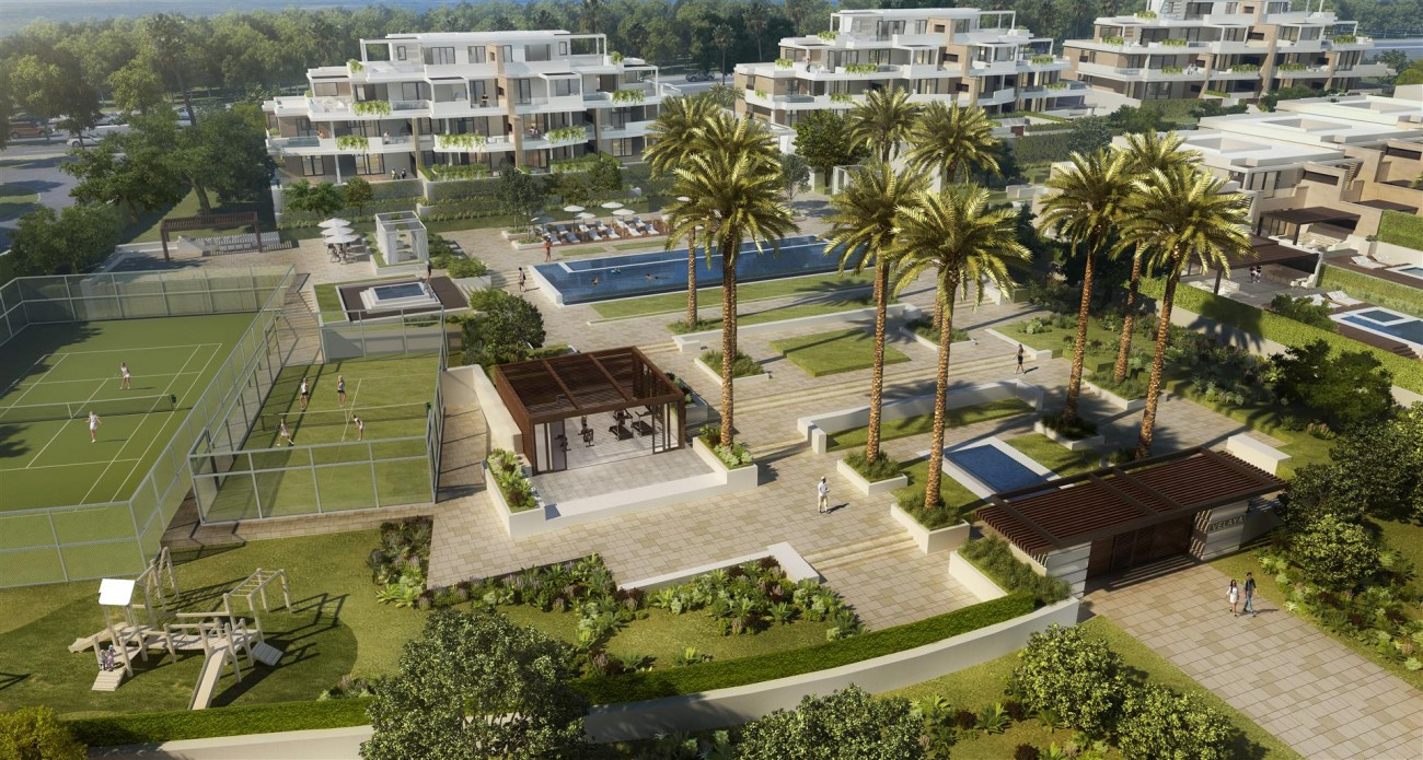 Frontline Beach New Development for sale Estepona Spain (10) (Large)