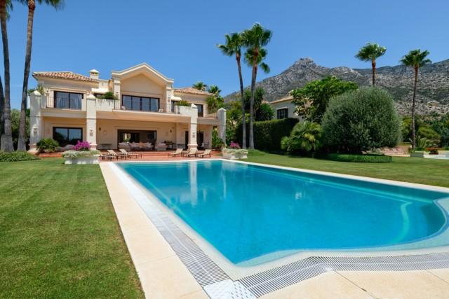 Villa for Sale - 5.900.000€ - Golden Mile, Costa del Sol - Ref: 6056