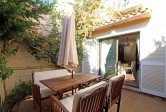 Semi.detached villa situated only a few meters from the marina of Alcudia.