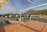 Immaculate top floor apartment with private roof terrace.
