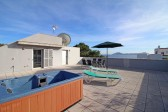Top quality penthouse apartment with private roof terrace in the most exclusive location in Puerto Pollensa