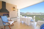 4 Bedroom Apartment with absolutely breathtaking panoramic views of Puerto Pollensa
