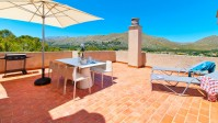 Incredible penthouse apartment with stunning sea views and communal pool