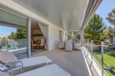 Exclusive to Sol Mallorca Three bedroom modern apartment for sale near the Pine Walk in Puerto de Pollensa.