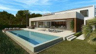 Modern detached villa with private pool for sale in Bonaire - Alcudia