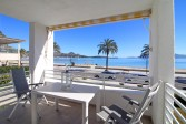 First line one bedroom apartment with beautifull views of Puerto de Pollensa beach