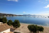 Unique location and probably one of the best sea views in Puerto Pollensa.