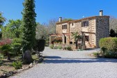 Beautiful typical Mallorquin property tucked away in the Pollensa countryside.