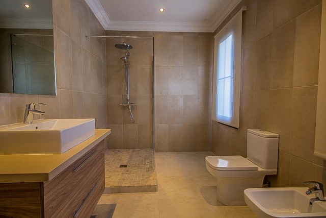 Bathroom in apartment
