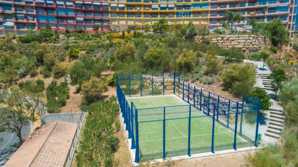 Padle tennis court