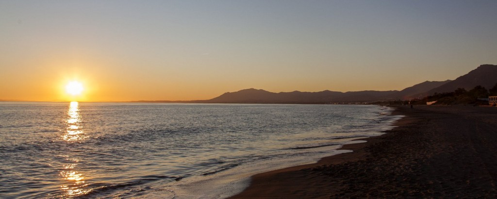sunset marbesa